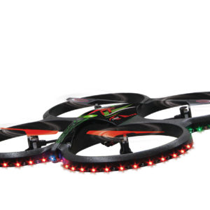 Quadrocopter Flyscout Compass-LED-Camera