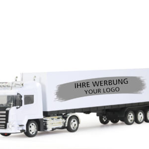 Container-Truck white with light, RTR