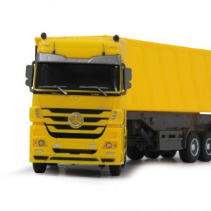 Mercedes Actros Tipper 1:32 yellow 40Mhz