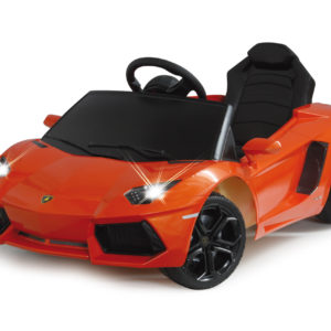 Ride-on Lamborghini Aventador orange