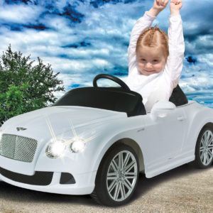 Ride-on Bently GTC white