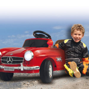 Ride-on Mercedes 300SL red 27MHz