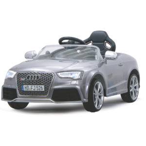 Ride-On Audi RS5 silver 12V
