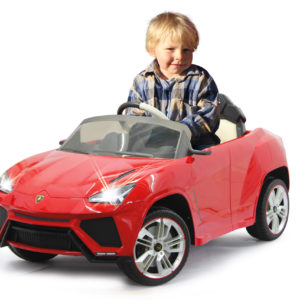 Ride-on Lamborghini Urus red 2,4GHz
