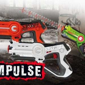 Impulse Laser Battle Set (oranž-valge)
