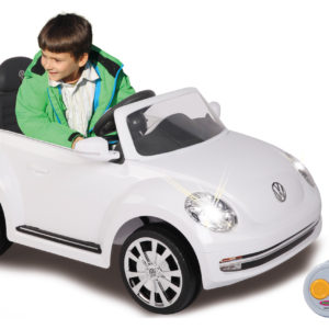 Ride-on VW Beetle white 27MHz 6V