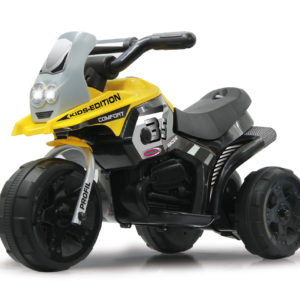 Ride-on E-Trike Racer yellow