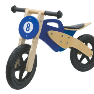 Push-Bike Wood Bike blue