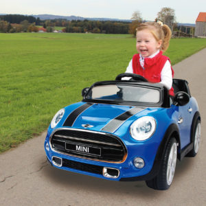 Ride-on Mini blue 2,4G 12V