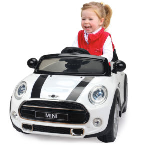 Ride-on Mini white 2,4G 12V
