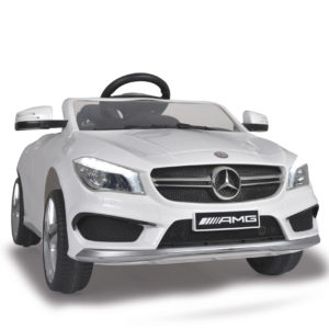 Ride-on Mercedes CLA45 AMG white 2,4G 12V Sensor