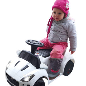 Rideon Kiddy-Jaguar white