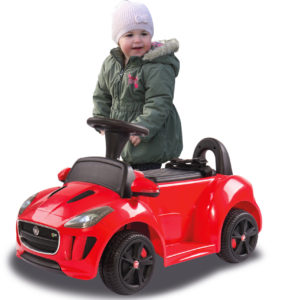 Rideon Kiddy-Jaguar red