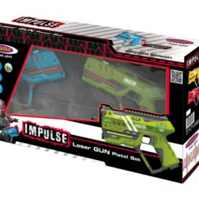 Impulse Laser Gun-Pistol Set blue-green