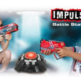 Impulse Laser Gun Targets - Battle Station