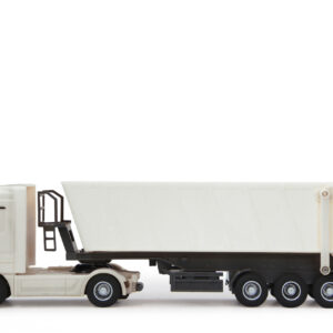 Mercedes Actros Tipper 1:32 white 27 Mhz