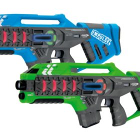 Impulse Laser Gun - Rifle Set blue-green